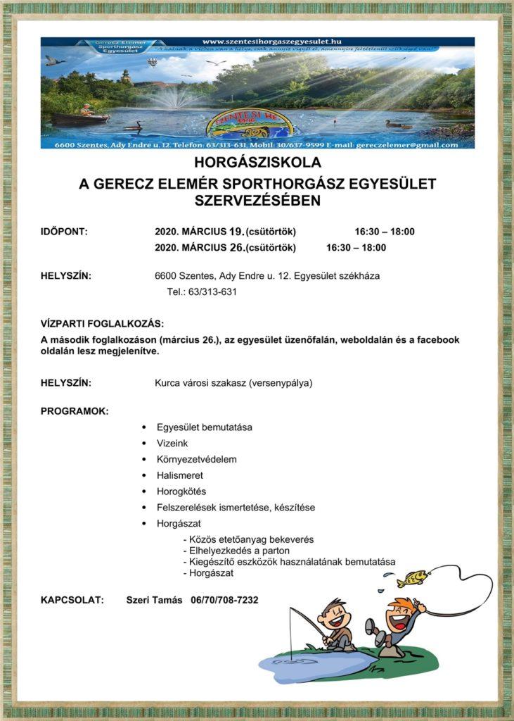 HORGÁSZISKOLA2020
